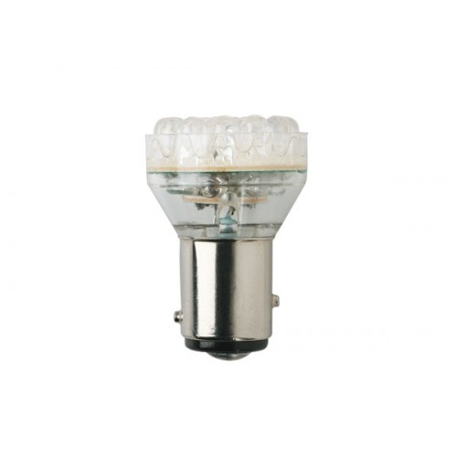 Auto led lamp ba15s 12v 21w 1pool wit for Led lampen 12v