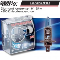 Auto lampen set -Diamond- H1 55W