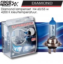 Auto lampen set -Diamond- H4 60/55W