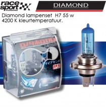 Auto lampen set -Diamond- H7 55W